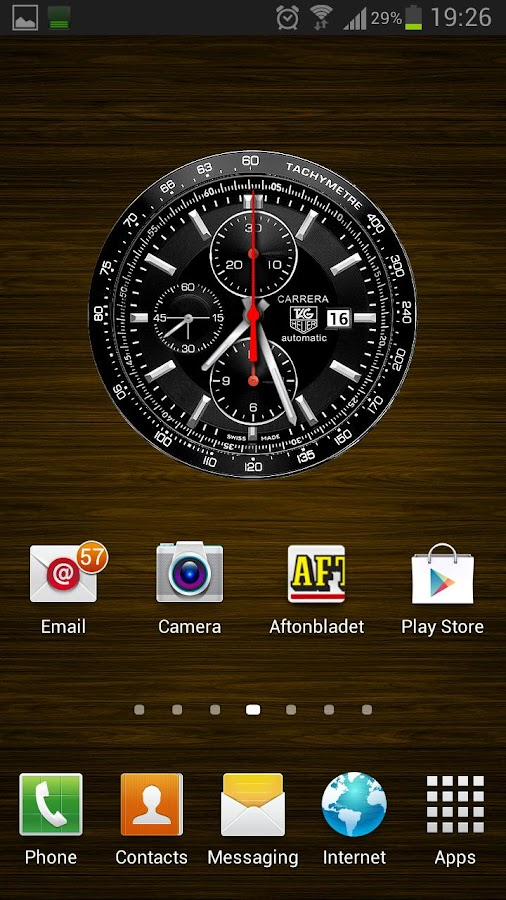 TAG HEUER CARRERA LIVE WP - screenshot