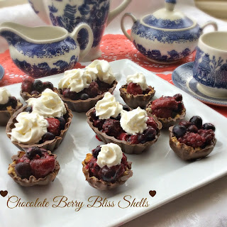 Chocolate Berry Bliss Shells