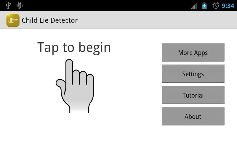 Child Lie Detector AdFree - screenshot