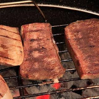 Crispy Grilled Beef Tongue.