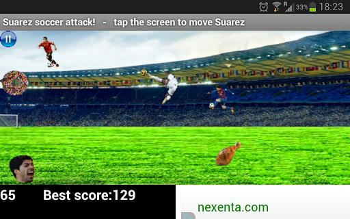 Suarez Soccer Attack