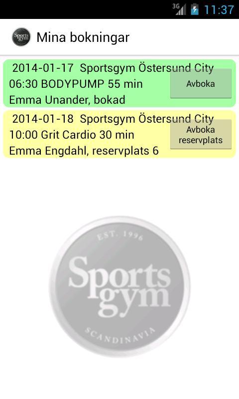 Sportsgym Scandinavia - screenshot