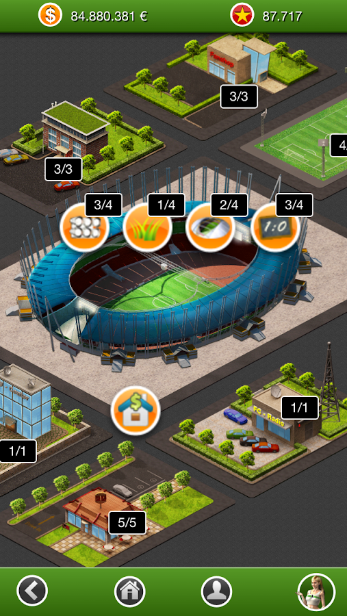 Fussballcup – Screenshot
