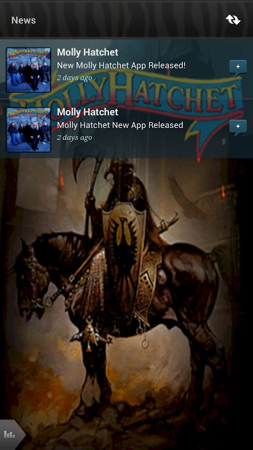 Molly Hatchet - screenshot