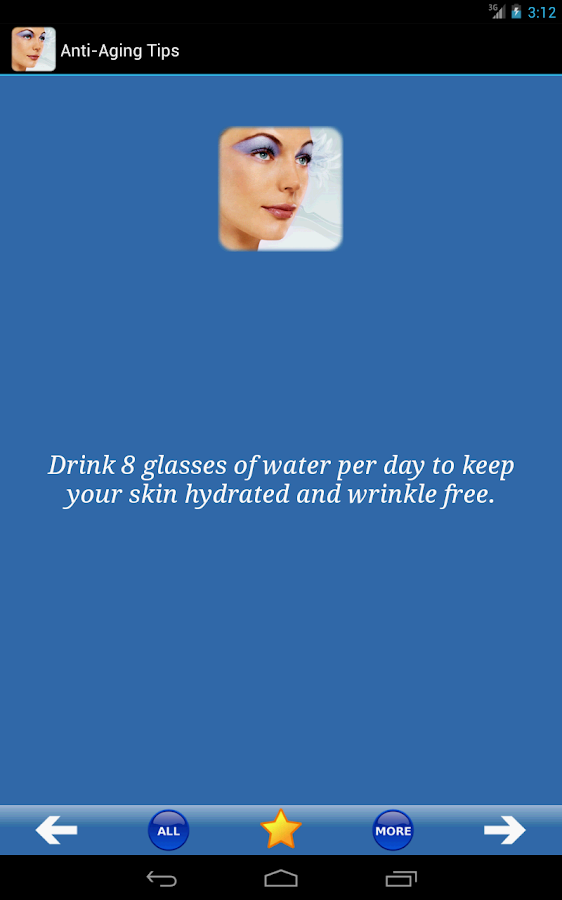 Anti-Aging Tips- screenshot