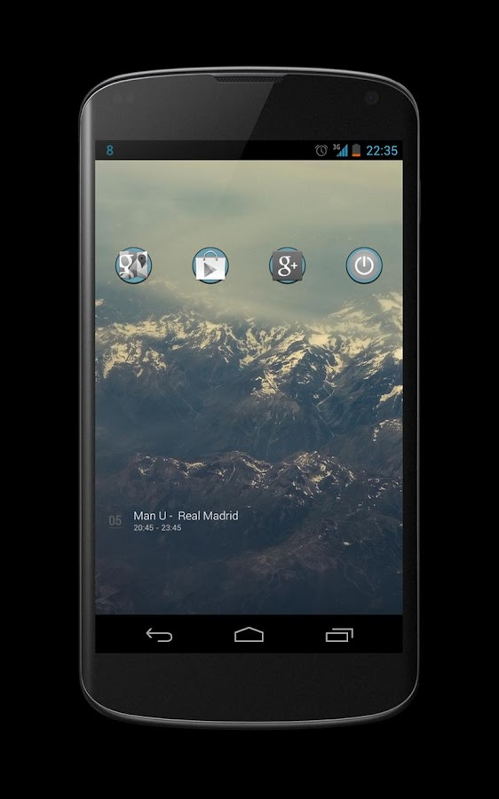 Blcknwhts icon theme - screenshot
