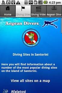 Aegean Divers - Santorini- screenshot thumbnail