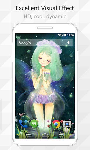 Fairy Girl Live Wallpaper