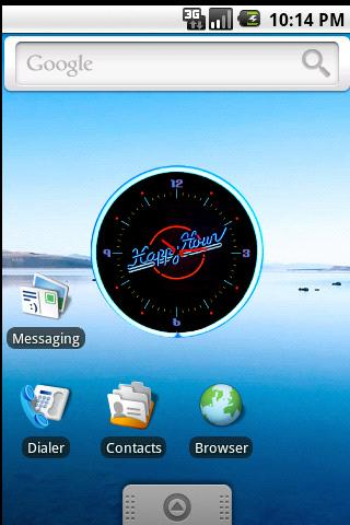 Happy Hour Clock Widget - screenshot