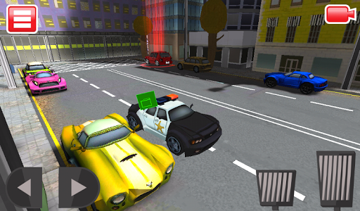 3D Police Car Chase