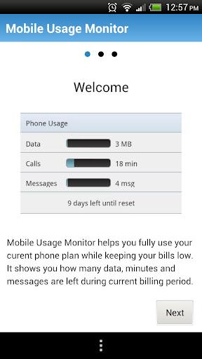 Mobile Usage Monitor