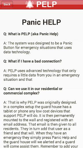 【免費通訊App】PELP (Panic Help)-APP點子