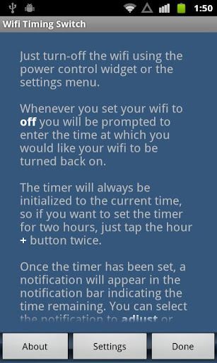 Wifi Timing Switch