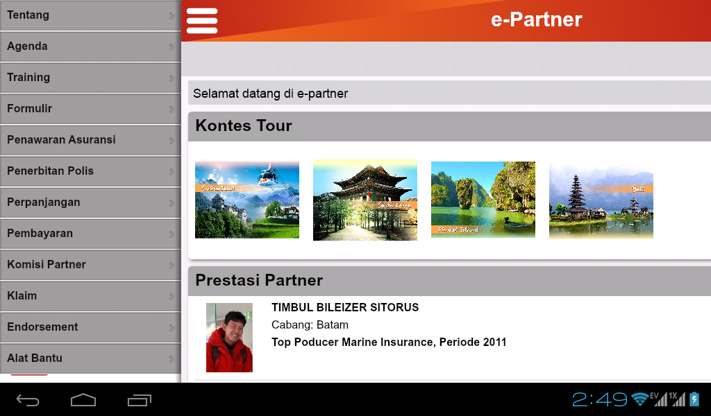 e-partner- screenshot
