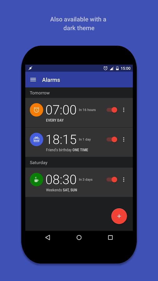 AlarmPad - Alarm clock PRO - screenshot