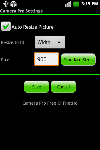 Camera Pro (Free) - screenshot