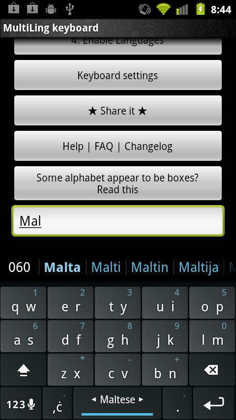maltese keyboard plugin android apps on google play. Black Bedroom Furniture Sets. Home Design Ideas