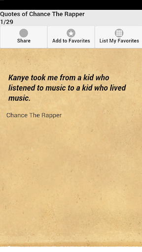 Quotes of Chance The Rapper