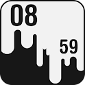 Dripping Paint Clock icon