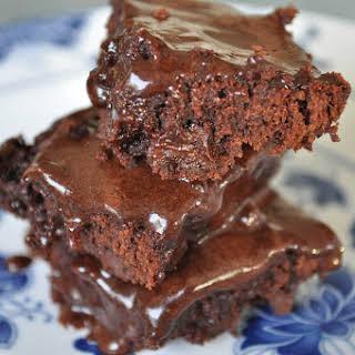 Most Amazing Chocolate Fudge Brownies.