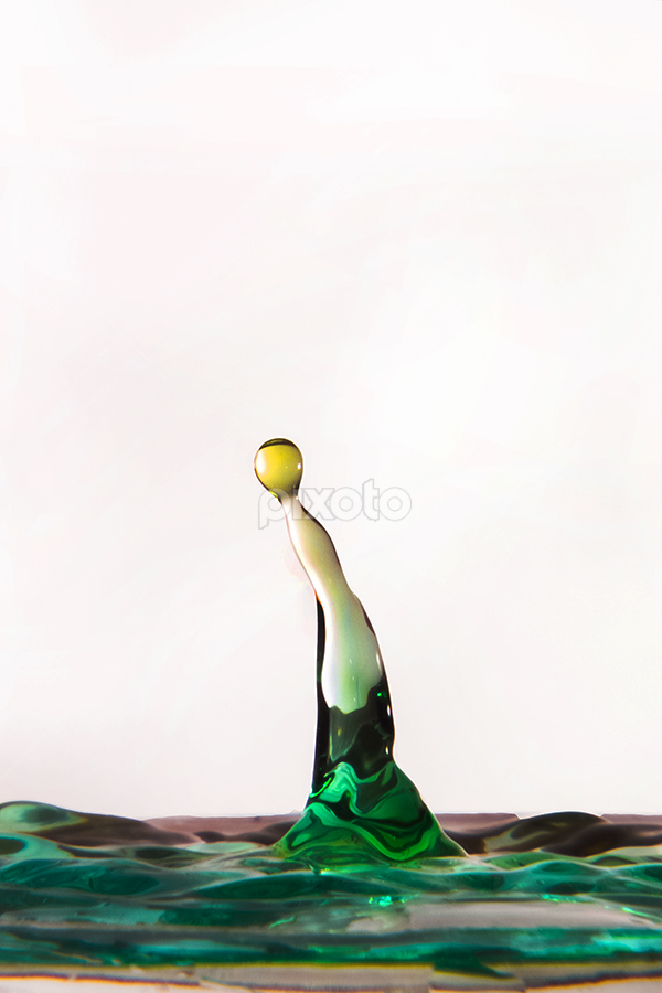 Let Me Alone by Catur G Prakasa - Abstract Water Drops & Splashes ( abstract, deoplet, splashes, tetes, water drop )