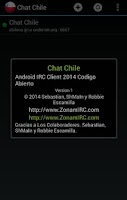 Screenshot of Chat Chile
