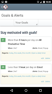 RescueTime - Work Life Balance - screenshot thumbnail