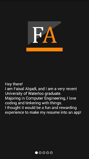 FaisalAlqadi Resume