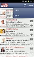 Screenshot of Köşe Yazarlarım