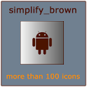Simplify Brown (Go Theme) icon