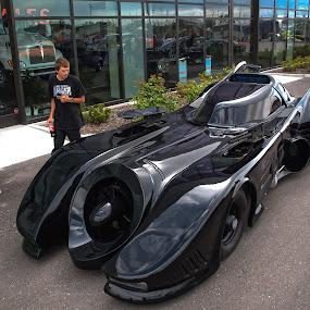Black Beauty by Boyd Smith - Transportation Automobiles ( comic book car, turbine, bat mobile, custom car )