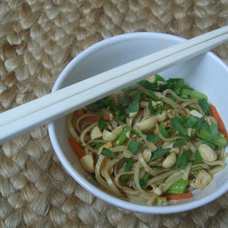 Sesame Noodles with Thai Basil.