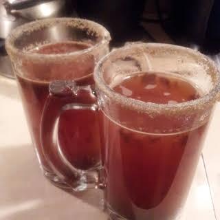 Hot Caramel Apple Cider.