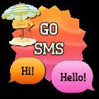 SunsetBeach/GO SMS THEME icon