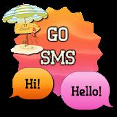 SunsetBeach/GO SMS THEME