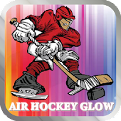 Air Hockey Glow