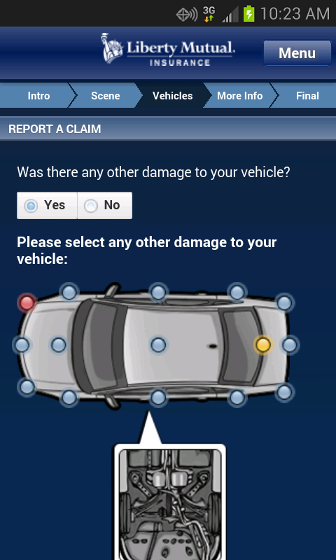 Liberty Mutual Mobile - screenshot