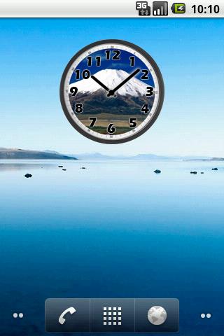 Mount Fuji Clock