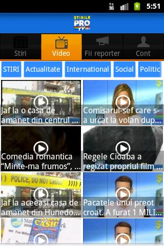 StirileProTv.ro - screenshot