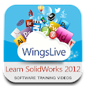 Learn SolidWorks 2012 icon