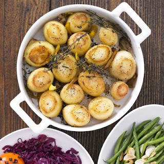 Herby Fondant Potatoes Recipe