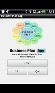 Business Plan App- screenshot thumbnail