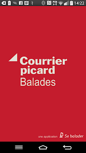 Courrier picard Balades Capture d'écran