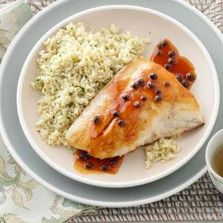 Parsleyed Rice Pilaf.