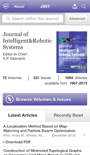 Intelligent and Robotic Syst