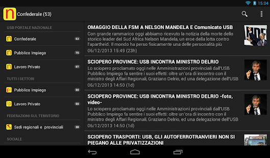 Unione Sindacale di Base - USB- screenshot thumbnail