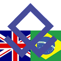 Brazilian English Dictionary logo