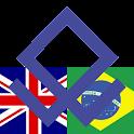 Brazilian English Dictionary logo