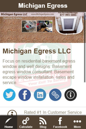 Egress Window Calculator