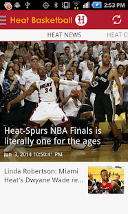 Heat Basketball - screenshot thumbnail
